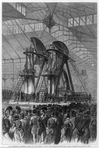 The Corliss Engine, a symbol of industrial power, became a symbol of the Centennial Exhibition held in Philadelphia in 1876.